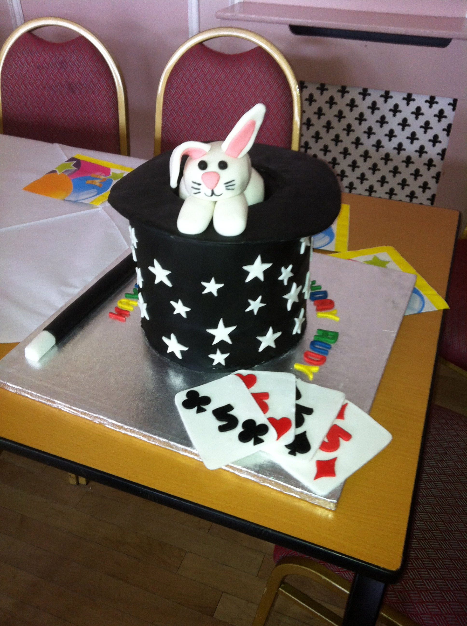 Magician Cake Children S Birthday