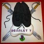 Scarlet's 7th Birthday Cake