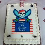 Lewis's 5th Birthday Cake